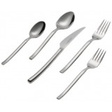 J.A. Henckels Premier Series Opus 45-Piece Stainless Steel Flatware Set, Service for 8
