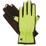 Isotoner Women's smarTouch 2.0 Matrix Nylon Gloves - Ultra Plush Lined