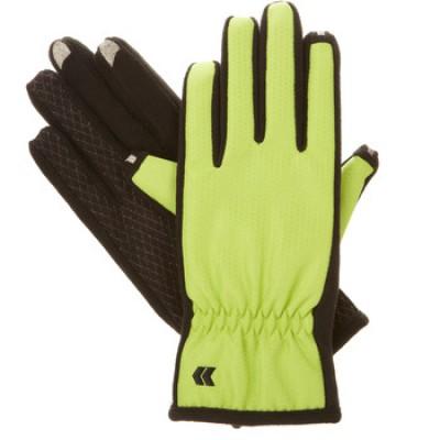 Isotoner Women's smarTouch 2.0 Matrix Nylon Gloves - Ultra Plush Lined
