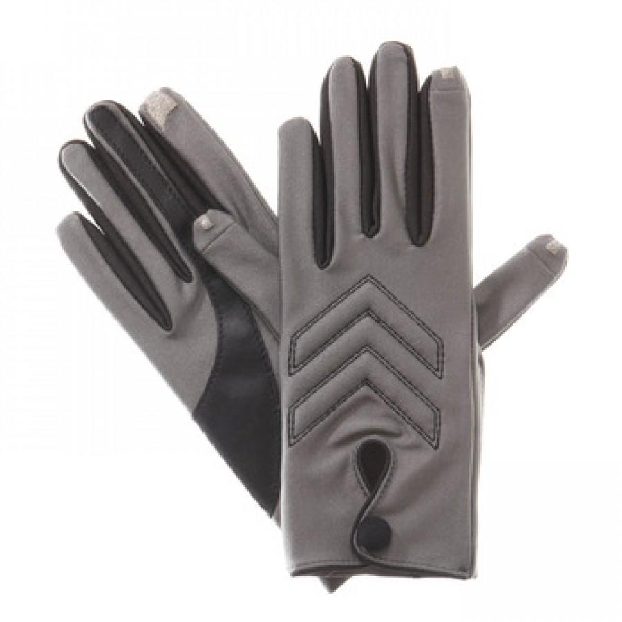 Driving gloves isotoner - Isotoner Women S Smartouch Brights Modern Chevron Driving Glove