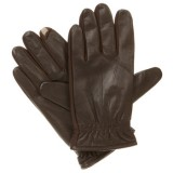 Iostoner Men's smarTouch Stretch Leather Gloves - Fleece Lined