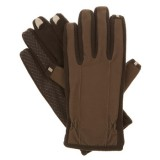 Isotoner Men's smarTouch 2.0 Tech Stretch Gloves - Fleece Lined