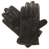 Isotoner Men's smarTouch Tec Leather Gloves - Fleece Lined