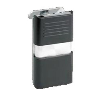 Vector KGM Android Slim Torch Lighter - Black Matte / Chrome 2-Tone
