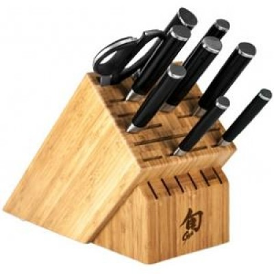 Shun Classic 10-Piece Chef's Block Set