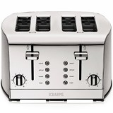Krups 4 Slice Toaster - Breakfast set