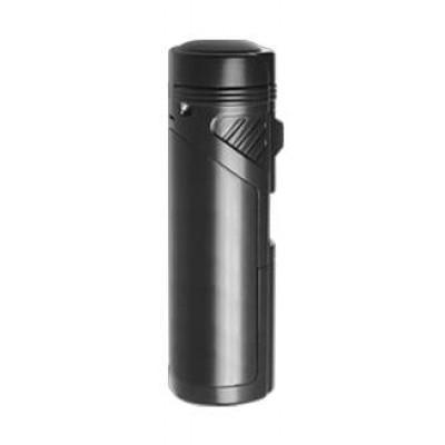 Vector KGM Quattro 4 Jet Torch Flame Lighter - Black Matte