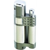 Vector KGM Stratos Jet Torch Lighter - Gunmetal Satin