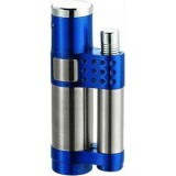 Vector KGM Stratos Jet Torch Lighter - Sparkle Blue